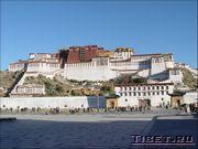 Дворец Потала в Лхасе - резиденция Далай Ламы