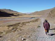 Спуск в долину к Дарчену