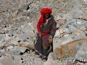Так одеваются тибетцы